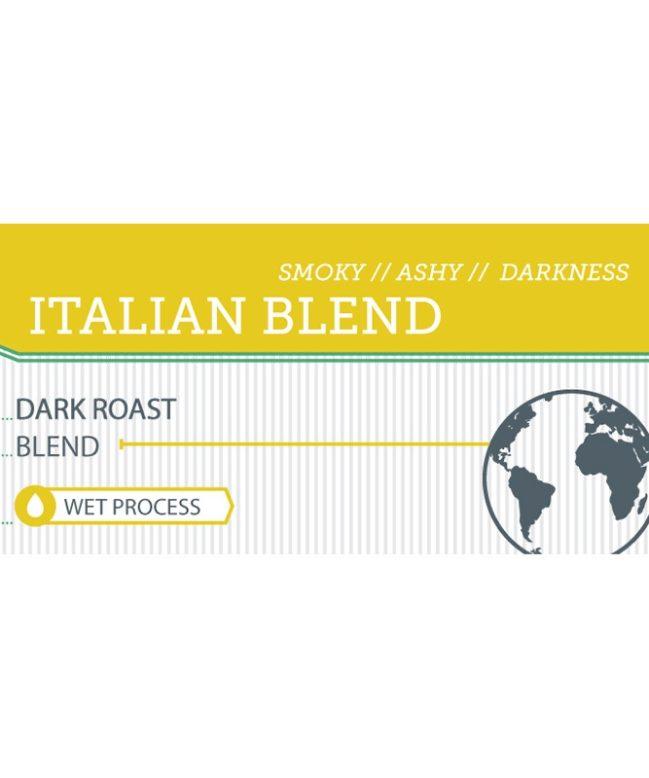 Italian Blend label
